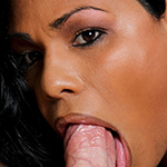 Doll. Black tranny gets make love with great white penish
